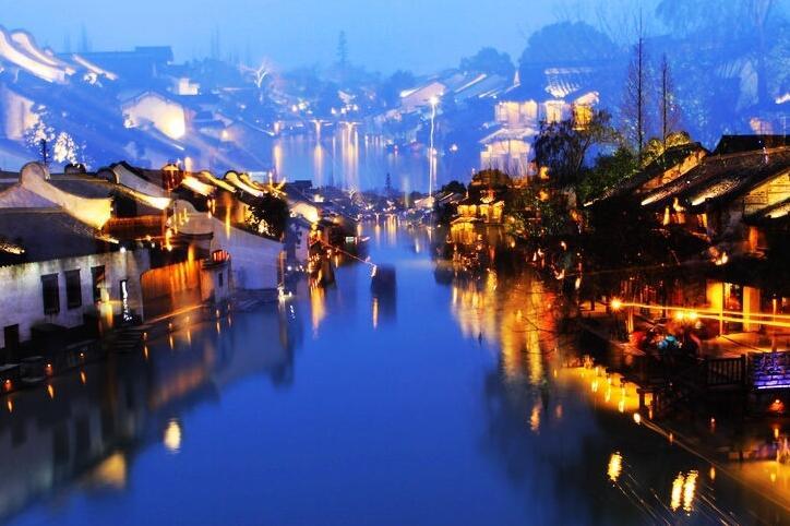 淮北风景名运河古镇